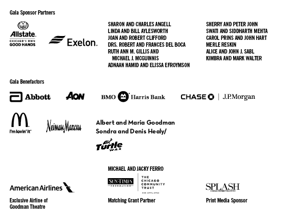Gala Sponsors and Leadership