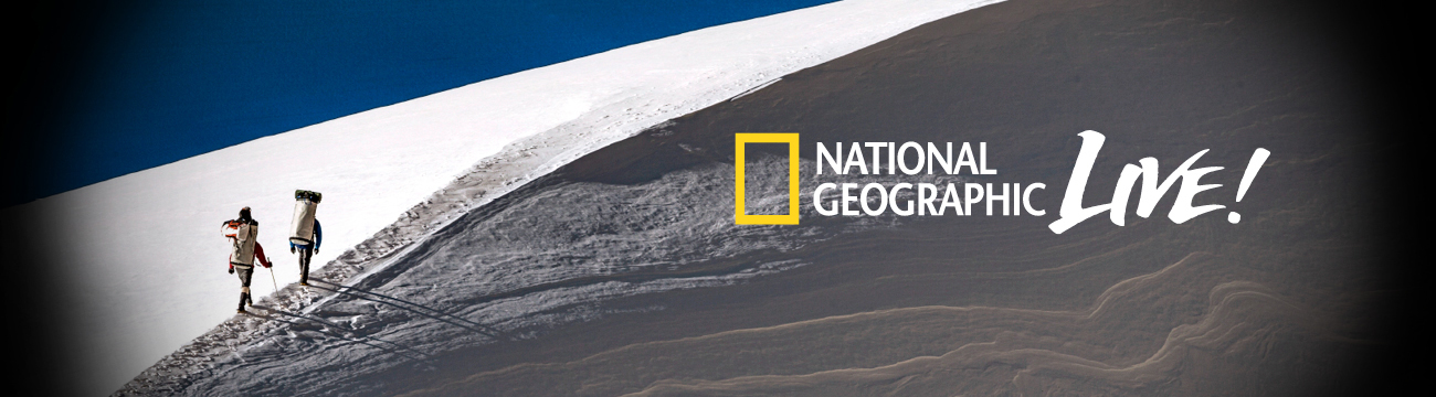 National Geographic Live 2014/2015