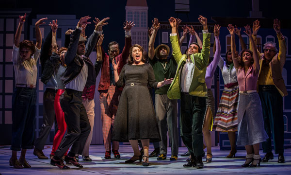 Bri Sudia Ruth Sings Swing Along With Ensemble Members In Wonderful Town A Musical By Leonard Bernstein Librettists Joseph Fields And Jerome