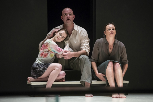 Ian Bedford Eddie Catherine Combs And Andrus Nichols Beatrice In A View From The Bridge By Arthur Miller Directed Ivo Van Hove
