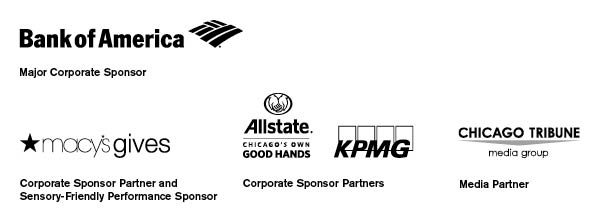 "Sponsors for the Sensory-Friendly Performance  of ""A Christmas Carol"""