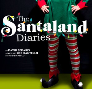 The Santaland Diaries 8x10 with Billing