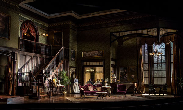 The little foxes goodman theatre for Rosenthal home designs