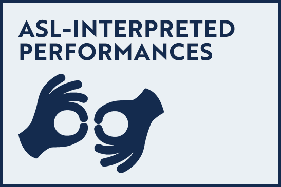 ASL-Interpreted Performances