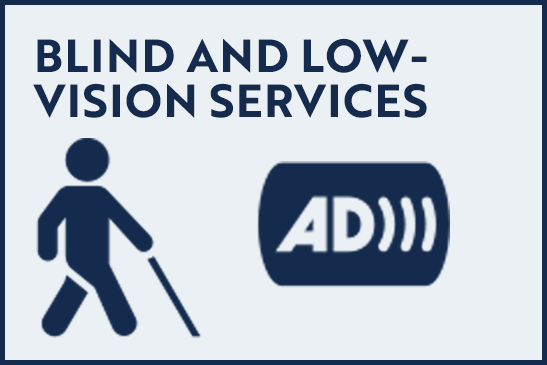 Blind and Low-Vision Services